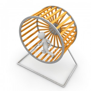 Det berømte hamsterhjulet.
