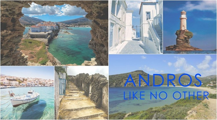 Holidays in Andros Island, Greece