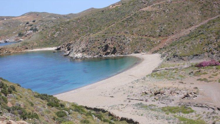 Agios Sostis beach Andros