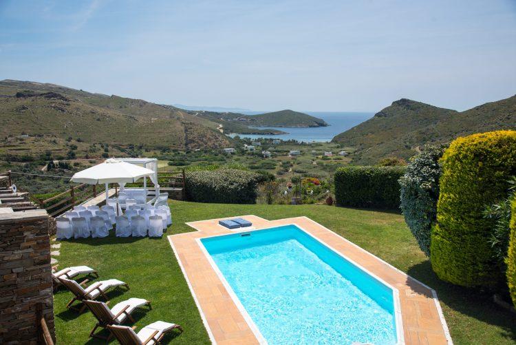 destination wedding in Heliades Villas