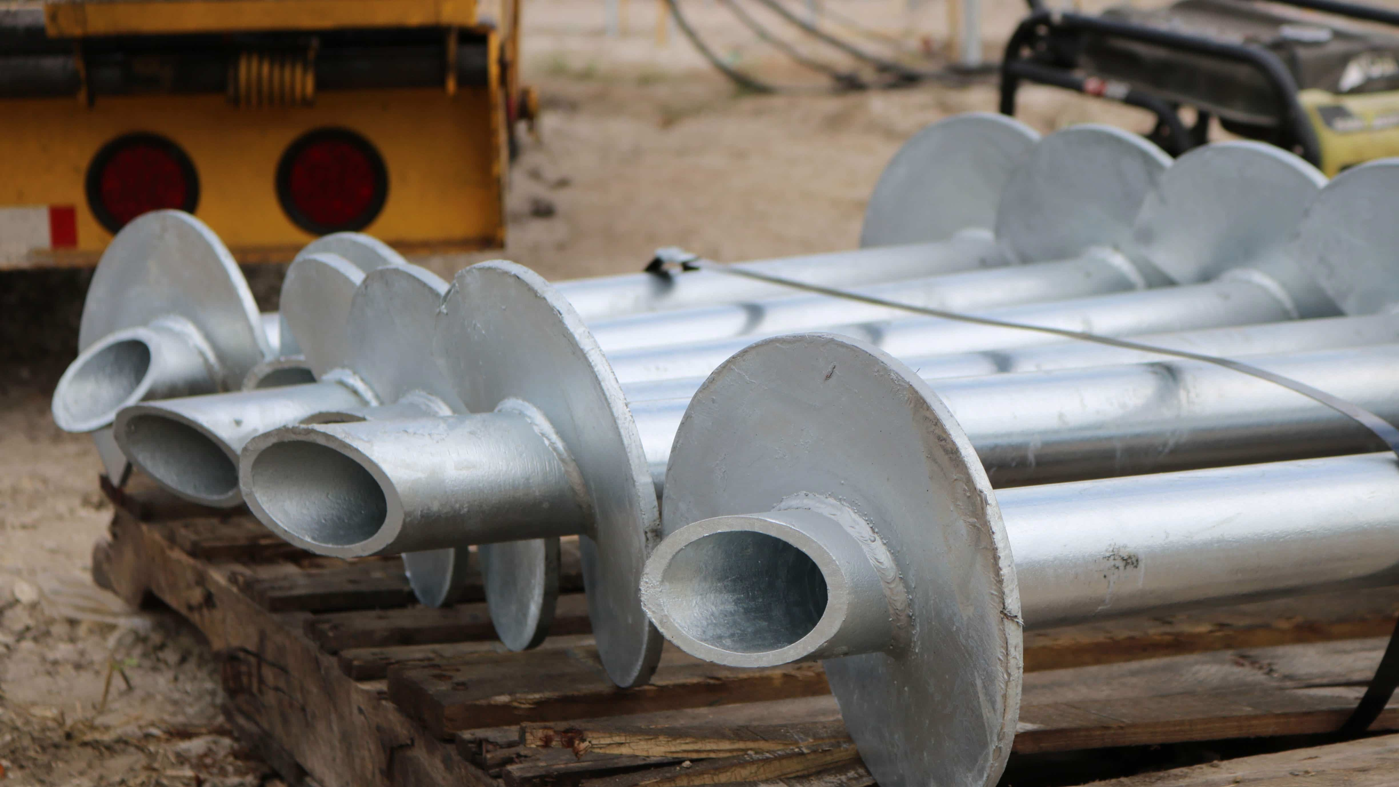 Helical Piers are a Top Choice for Pre-Construction Projects