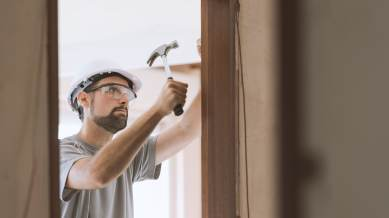 carpenter fixing home