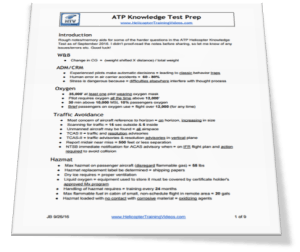 ATP Knowledge Test Prep Document Preview