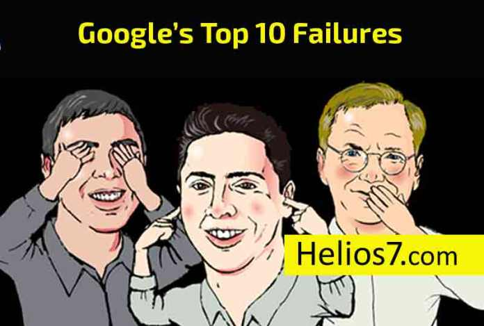 google top 10 failures