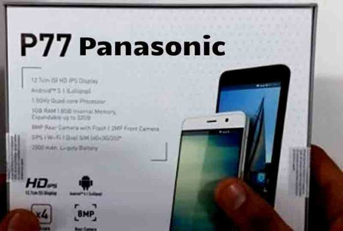 panasonic p77 mobile