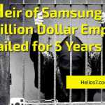 samsung heir jailed