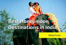 5 honeymoon destinations india
