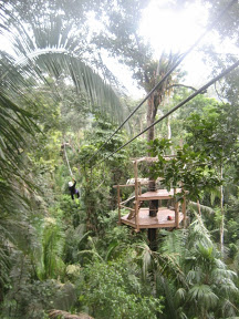 San Ignacio to San Pedro via Zipline & Belize Zoo
