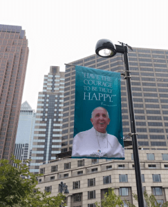Celebrating Mass with Pope Francis