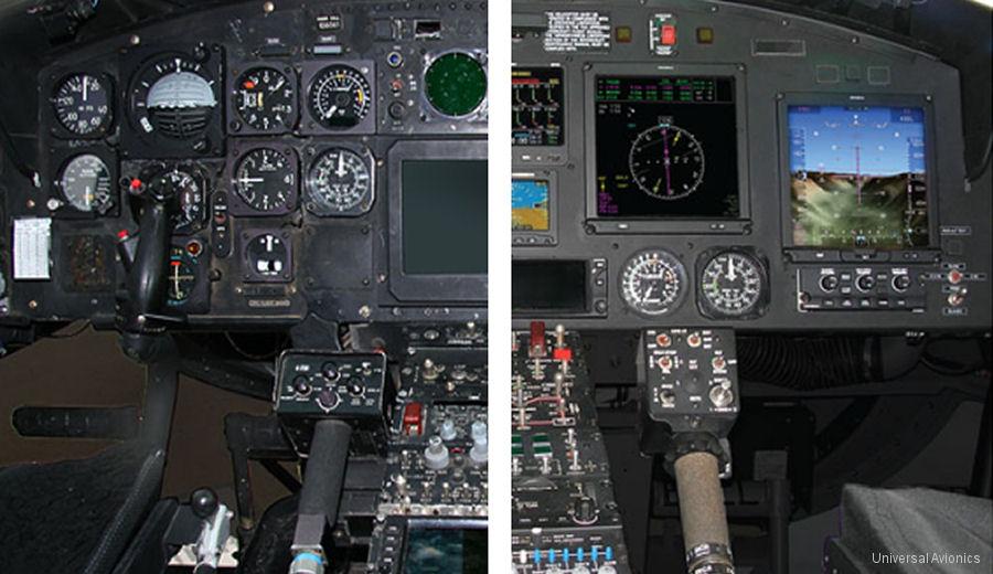Bell 212 Glass Cockpit Upgrade Certification