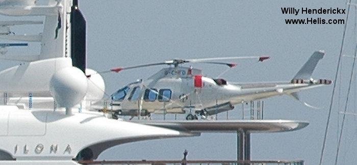 G CHFD AgustaWestland AW109SP GrandNew CN 22262