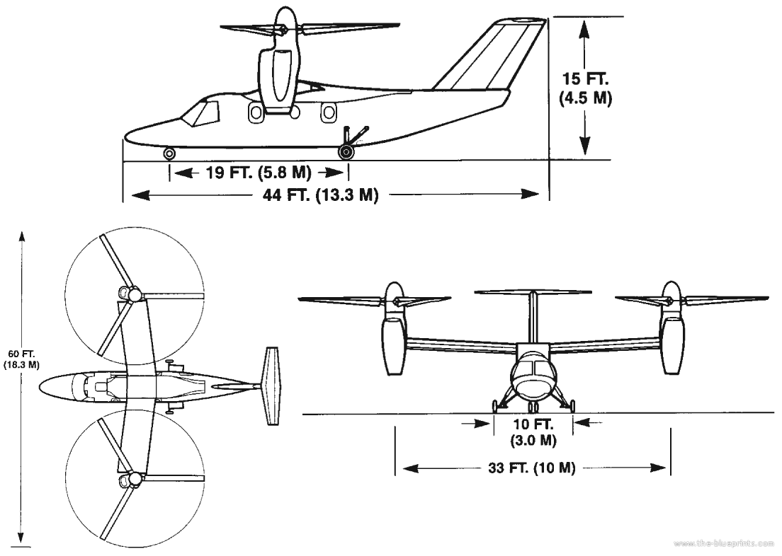 Bell Agusta Ba609 Aw609 Helicopter