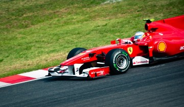 Fernando Alonso at Suzuka (2010)