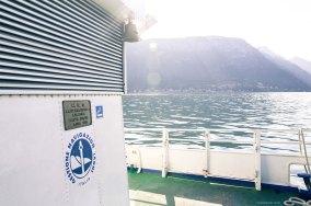 Morning sunshine on Lake Como