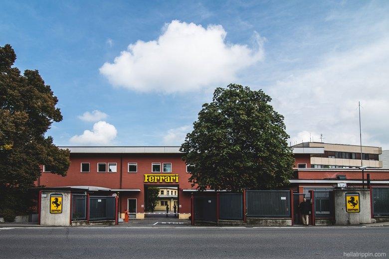 The Ferrari Factory