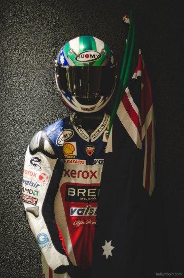 Casey Stoner's race suit