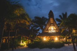 Ahau Tulum at night