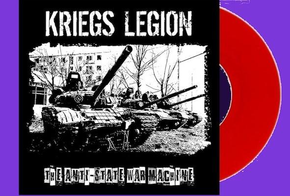 kriegs legion album cover