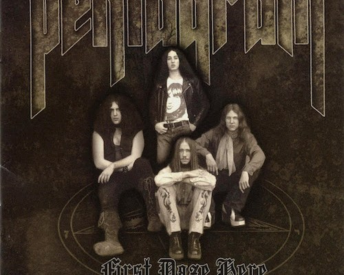 pentagram first daze here cover