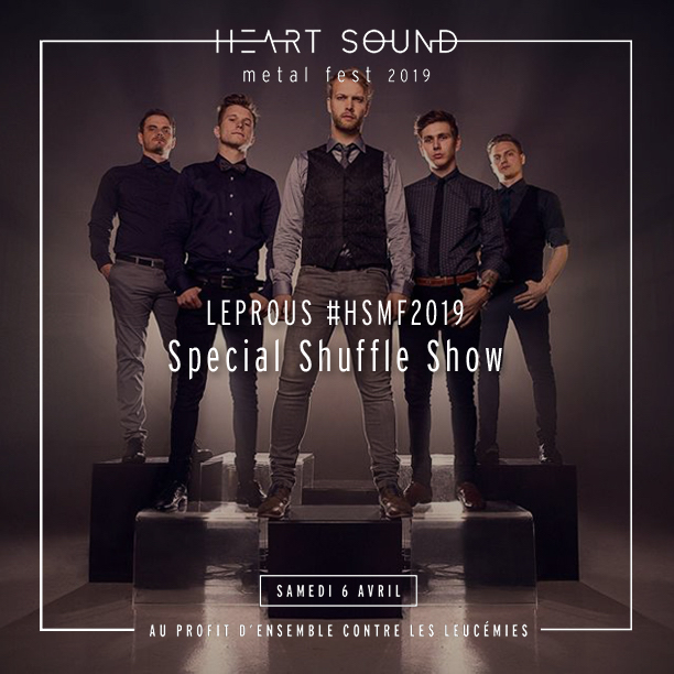 Leprous Special Shuffle Show promo image