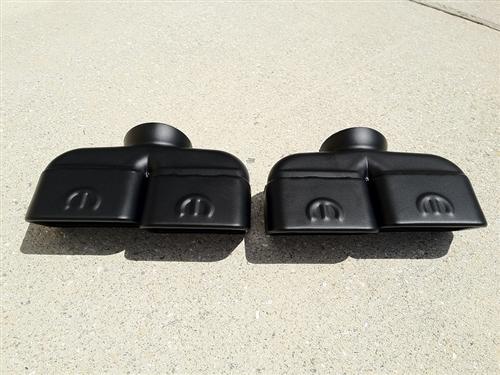 round dual exhaust tips srt hellcat forum