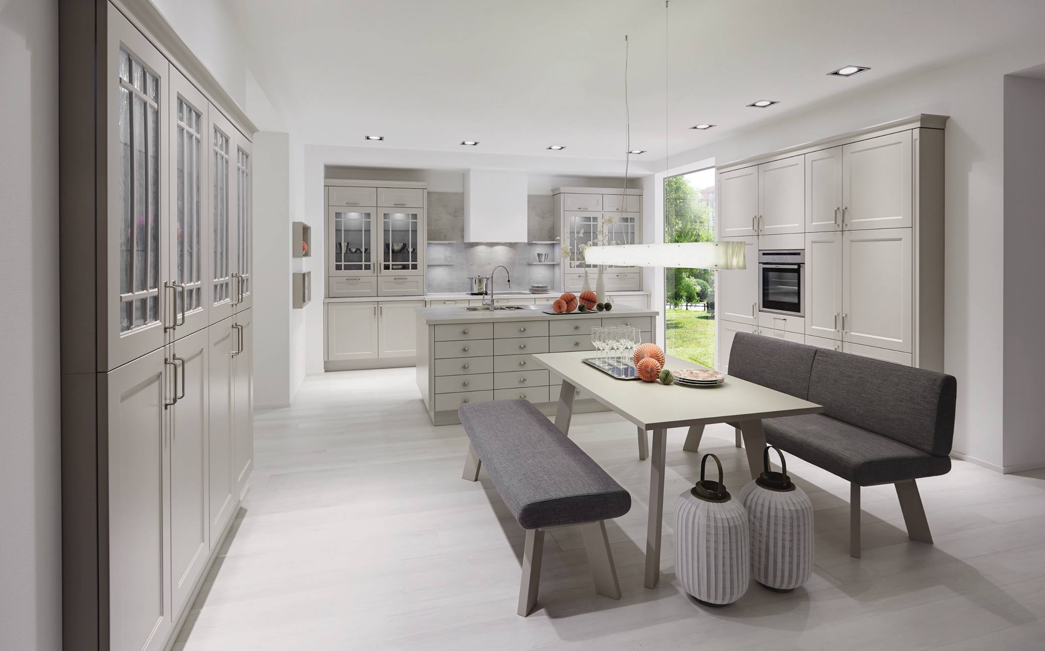 Con piani di lavoro su entrambi i lati o con. Come Scegliere La Forma Corretta Della Tua Cucina Articolo Con Foto Helle Kitchen