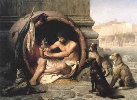Διογένης, Jean-Léon Gérôme, 1860, Walters Art Museum
