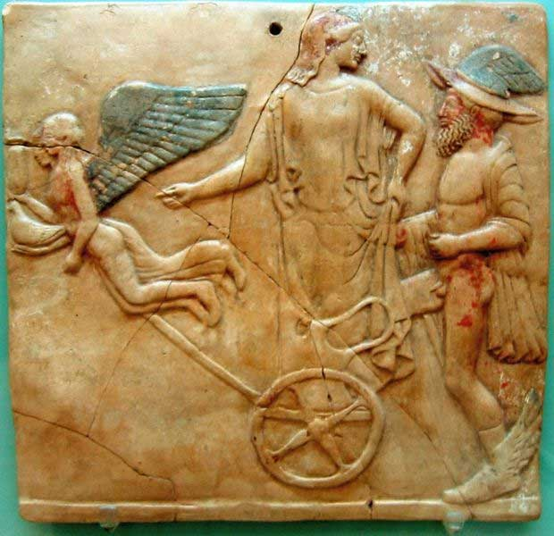 Image result for Aphrodite and Hermes