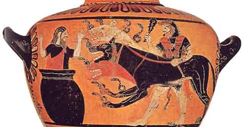 Image result for Kerberos greek myth
