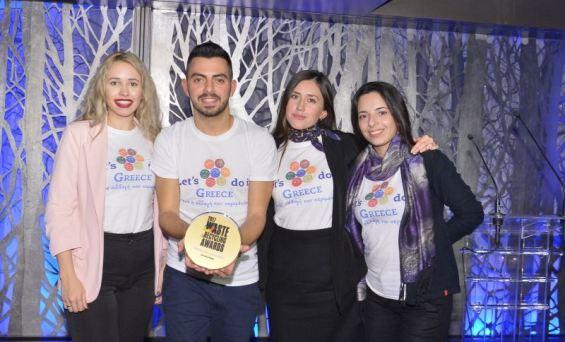 Waste & Recycling Awards τίμησε το lets do it greece
