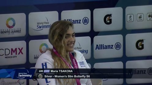 2η Παγκόσμια πρωταθλήτρια στο Μεξικό, η Λημνιά Μαρία Τσάκωνα!