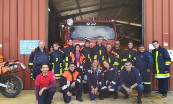 Πυροσβεστικό Σώμα Εθελοντών Ν. Βουτζά – Προβαλίνθου -ΕΟΠΠ- GREECE ATV ΣΤΟΝ 36ο Μαραθωνιο Αθηνας