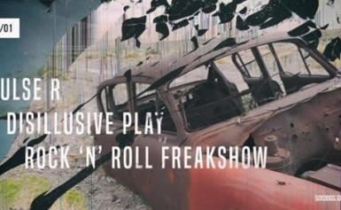 Pulse R/Disillusive Play/RnR Freakshow Live at six dogs- Σάββατο 5 Ιανουαρίου!