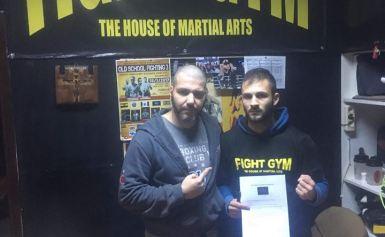 Παναγιώτης Ματσάγκος υπέγραψε συμβόλαιο με το μάνατζερ Αρταν Βέρμπικα