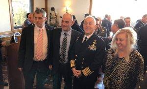 Κοπή της Βασιλόπιτας στον Σύνδεσμο Ελλήνων Βατραχανθρώπων στο Ναυτικό Όμιλο Ελλάδος.