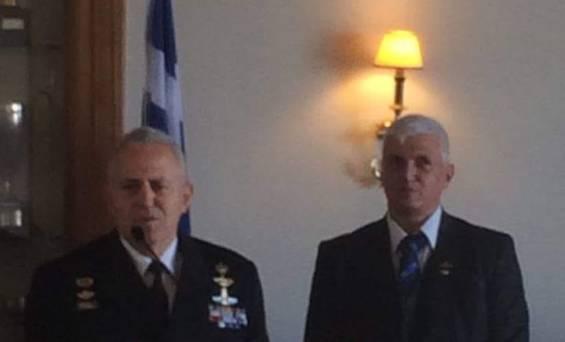 Το  μήνυμα του Κυριάκου Κόκκινου στον  Υπουργό Άμυνας Ευάγγελο Αποστολάκη