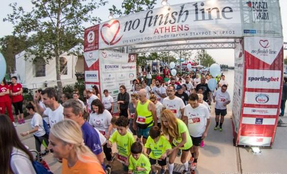 Άνοιξαν 12.000 θέσεις για το 3ο No Finish Line Athens