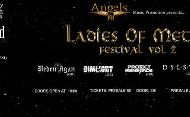 LADIES OF METAL FESTIVAL VOL. 2 @ HOLYWOOD STAGE (Σάββατο 30 Μαρτίου 2019)