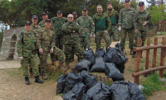 ΛΕΦΕΔ ΘΕΣΣΑΛΟΝΙΚΗΣ :Καθαρισμός της τοποθεσίας Μαύρος Λόφος στο Περιαστικό Δάσος Θεσσαλονίκης.