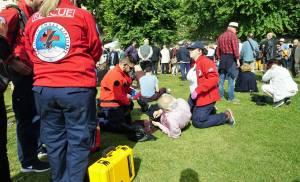 Ακόμα μια φορά τα μέλη του παραρτήματος Κέρκυρας της Ελληνικής Ομάδας Διάσωσης συμμετείχαν στον επιχειρησιακό σχεδιασμό του ΕΚΑΒ για αντιμετώπιση περιστατικών στο Ιστορικό Κέντρο της Κέρκυρας