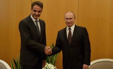 Ο Πρέσβης της Ρωσίας στην Ελλάδα Αντρέι Μάσλοβ επέδωσε τα συγχαρητήρια τηλεγραφήματα του Προέδρου της Ρωσίας Βλατνίμιρ Πούτιν και του Πρωθυπουργού της Ρωσίας Ντμίτρι Μεντβέντεβ προς τον Πρωθυπουργό της Ελλάδας Κυριάκο Μητσοτάκη