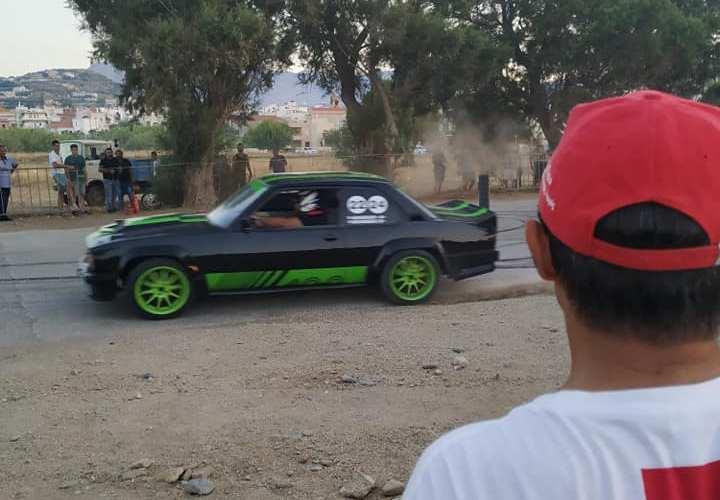 Ελληνικός Ερυθρός Σταυρός Τμήμα Κισάμου Υγειονομική κάλυψη των αγώνων δεξιοτεχνίας αγωνιστικών αυτοκινήτων