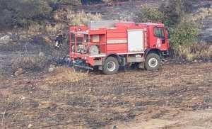 Η Ομάδα Εθελοντών Μεγαριτων ΟΕΜ επιχείρησε σε πυρκαγιά στην περιοχή Ερυθρές του δήμου Μάνδρας-Ειδύλλιας της Αττικής