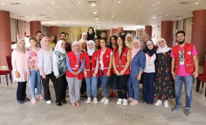 Syrian Arab Red Crescent :During July and August 2019, the #SyrianArabRedCrescent has held series training workshops targeting volunteers and coordinators of the Community Services Unit.