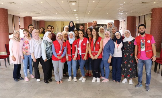 Syrian Arab Red Crescent:During July and August 2019, the#SyrianArabRedCrescenthas held series training workshops targeting volunteers and coordinators of the Community Services Unit.