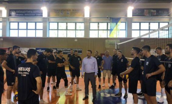 Στο κλειστό Παλαιού Φαλήρου η προετοιμασία της Εθνικής Ομάδας Βόλεϊ