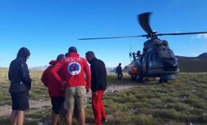 Ελληνική Ομάδα Διάσωσης  Επιχείρηση διάσωσης ανήλικου ορειβάτη σε εξέλιξη στον Όλυμπο