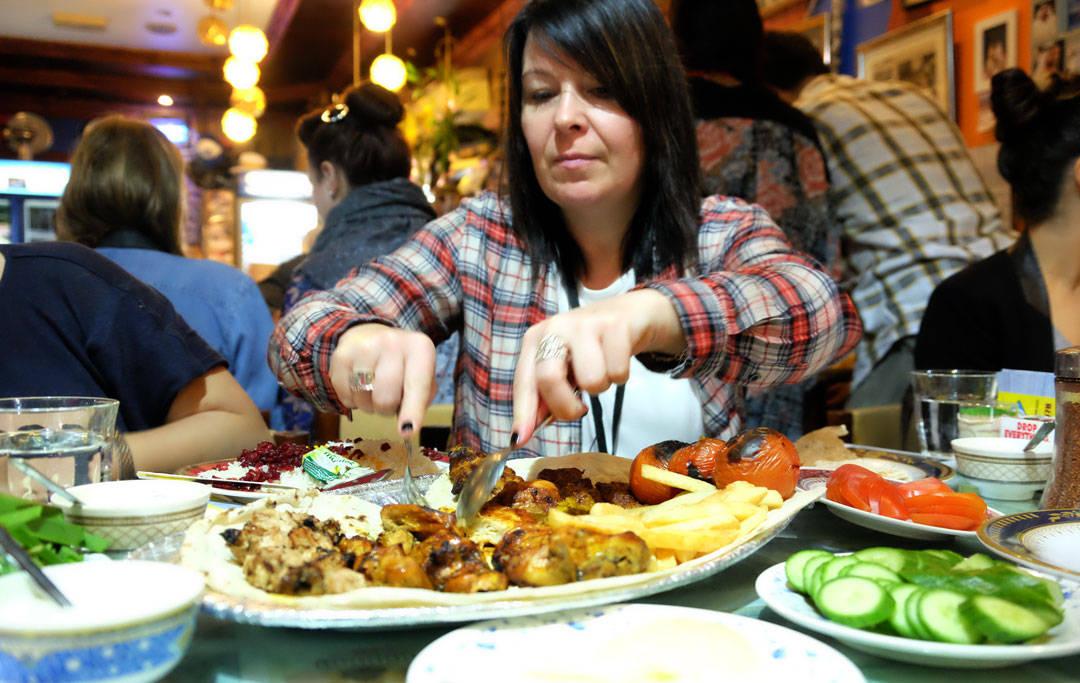 Forskjellige kjøttretter. Mari fra Finland.