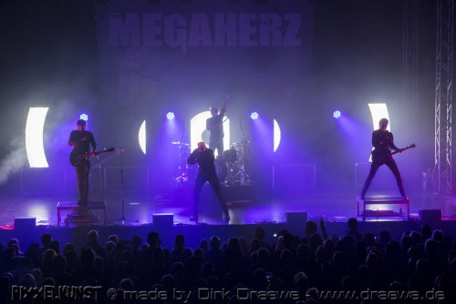 Megaherz live @ Turbinenhalle in Oberhausen