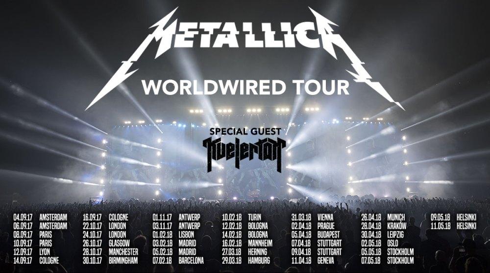 Metallica Tour Ticket Presale